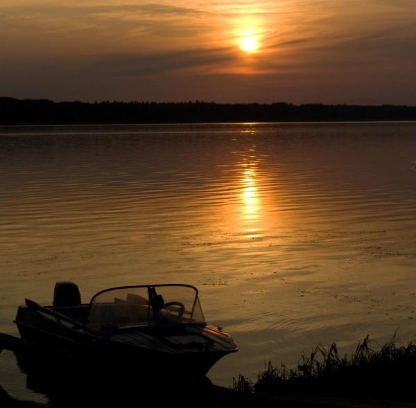 Ночная рыбалка на реке Мана